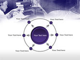 Library in Violet PowerPoint Template#7