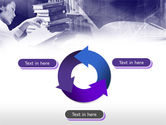 Library in Violet PowerPoint Template#9