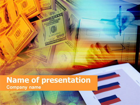 Financial/Accounting: Loan in Cash PowerPoint Template #00460