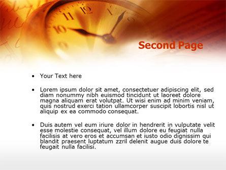 Watching Time PowerPoint Template, Slide 2, 00461, Business — PoweredTemplate.com