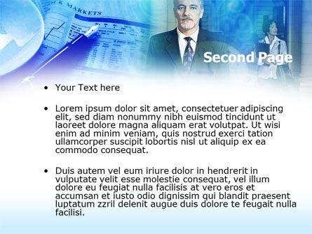 Financier PowerPoint Template, Slide 2, 00463, Business — PoweredTemplate.com