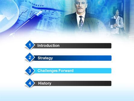 Financier PowerPoint Template, Slide 3, 00463, Business — PoweredTemplate.com
