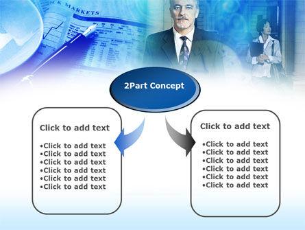 Financier PowerPoint Template, Slide 4, 00463, Business — PoweredTemplate.com