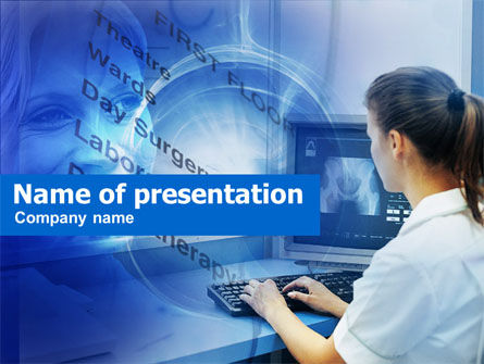 Medical: Clinical Record PowerPoint Template #00464