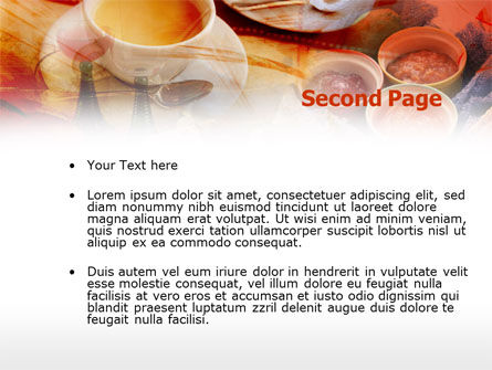 Cup Of Coffee PowerPoint Template, Slide 2, 00465, Food & Beverage — PoweredTemplate.com