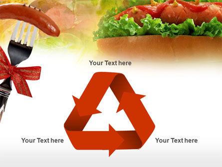 Hot-Dog PowerPoint Template Slide 10