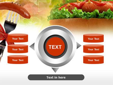 Hot-Dog PowerPoint Template Slide 12