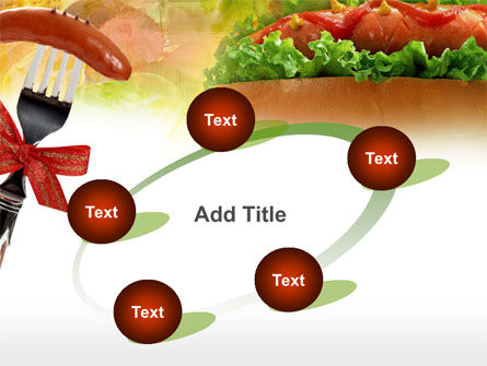 Hot-Dog PowerPoint Template Slide 14