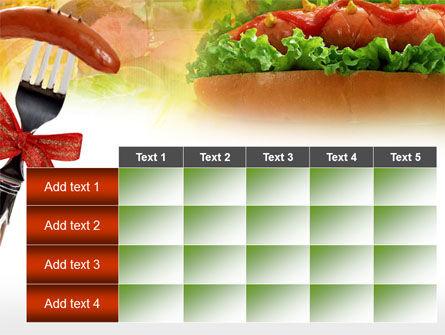 Hot-Dog PowerPoint Template Slide 15