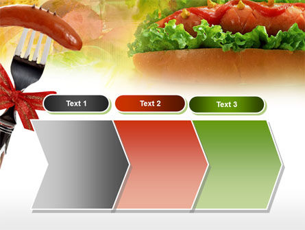 Hot-Dog PowerPoint Template Slide 16