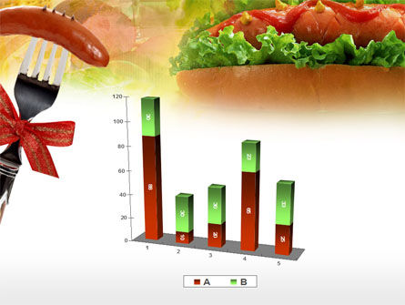 Hot-Dog PowerPoint Template Slide 17