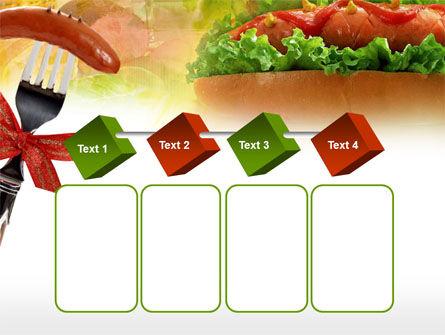 Hot-Dog PowerPoint Template Slide 18