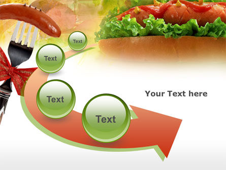 Hot-Dog PowerPoint Template Slide 6