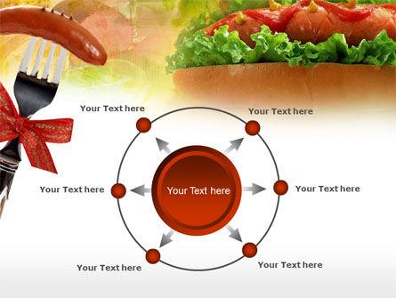 Hot-Dog PowerPoint Template Slide 7
