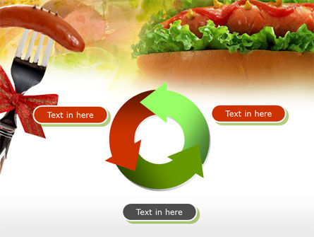 Hot-Dog PowerPoint Template Slide 9
