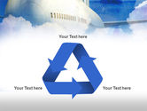 Large Aircraft PowerPoint Template#10