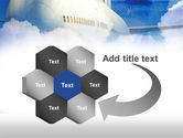 Large Aircraft PowerPoint Template#11