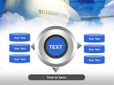 Large Aircraft PowerPoint Template#12