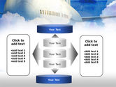 Large Aircraft PowerPoint Template#13