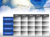 Large Aircraft PowerPoint Template#15