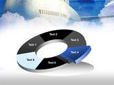 Large Aircraft PowerPoint Template#19