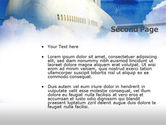Large Aircraft PowerPoint Template#2