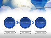 Large Aircraft PowerPoint Template#5