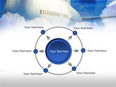 Large Aircraft PowerPoint Template#7