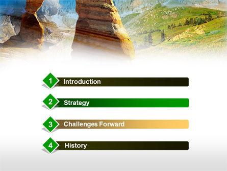 Utah National Park PowerPoint Template, Slide 3, 00472, Nature & Environment — PoweredTemplate.com