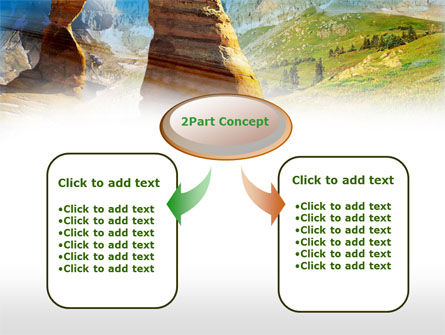 Utah National Park PowerPoint Template, Slide 4, 00472, Nature & Environment — PoweredTemplate.com