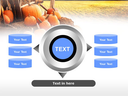 Pumpkin Field PowerPoint Template Slide 12