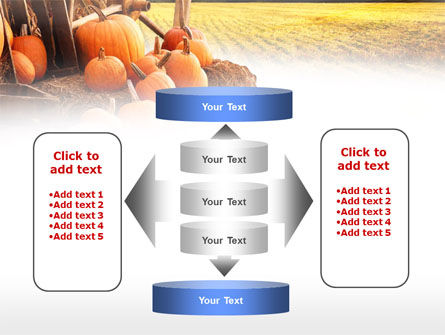 Pumpkin Field PowerPoint Template Slide 13