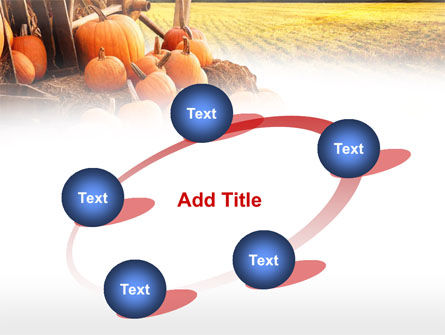 Pumpkin Field PowerPoint Template Slide 14