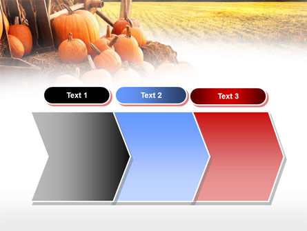 Pumpkin Field PowerPoint Template Slide 16