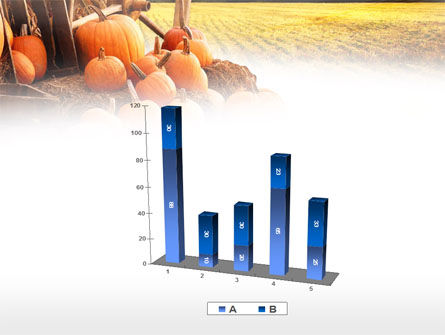 Pumpkin Field PowerPoint Template Slide 17
