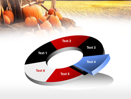 Pumpkin Field PowerPoint Template Slide 19