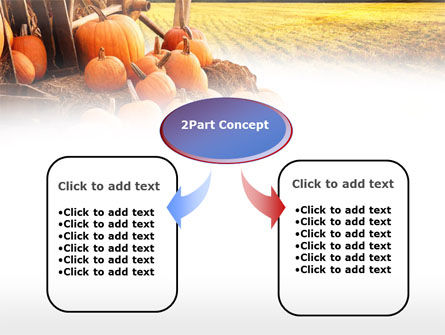 Pumpkin Field PowerPoint Template, Slide 4, 00474, Agriculture — PoweredTemplate.com
