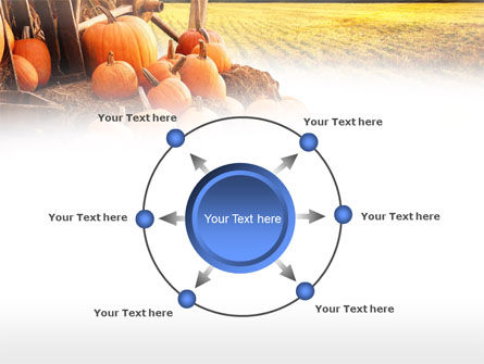 Pumpkin Field PowerPoint Template Slide 7