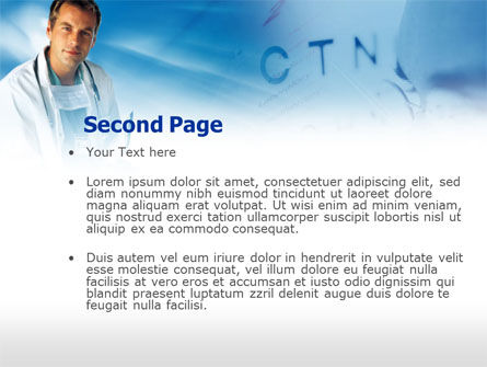 Ophthalmologist PowerPoint Template, Slide 2, 00475, Medical — PoweredTemplate.com