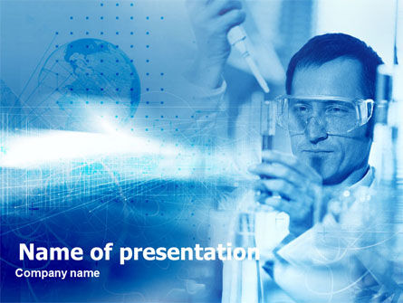 Technology and Science: Lab Tests Free PowerPoint Template #00476