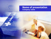 Medical: First Aid Guide PowerPoint Template #00477