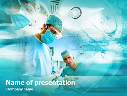 Medical: Chirurgische Procedures PowerPoint Template #00478