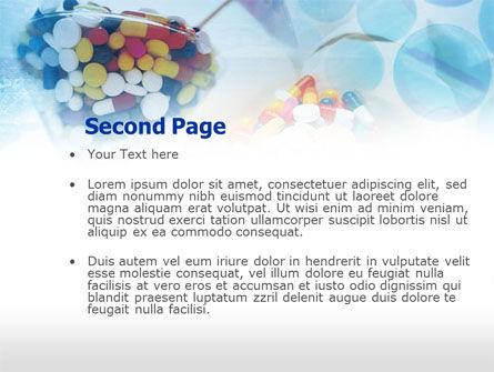 Pill Cocktail PowerPoint Template, Slide 2, 00480, Medical — PoweredTemplate.com