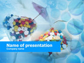 Medical: Pill Cocktail PowerPoint Template #00480