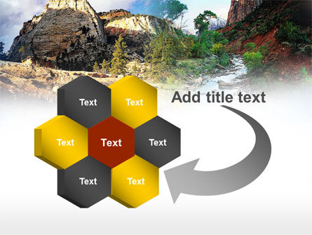 Mountain River PowerPoint Template Slide 11