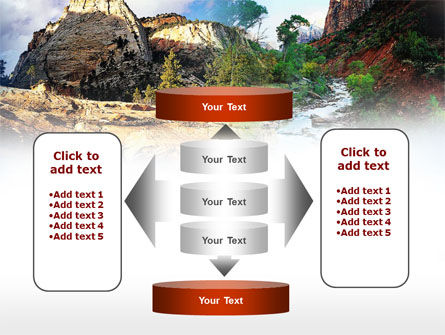Mountain River PowerPoint Template Slide 13