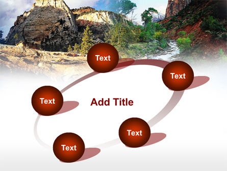 Mountain River PowerPoint Template Slide 14