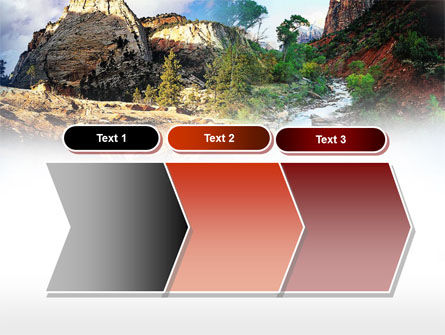 Mountain River PowerPoint Template Slide 16