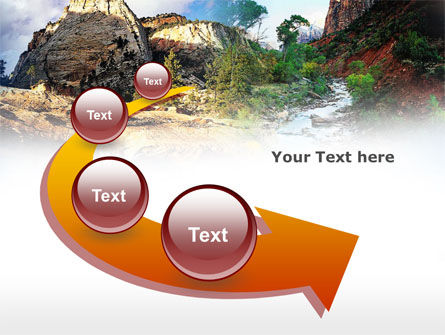 Mountain River PowerPoint Template Slide 6
