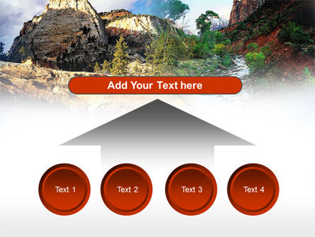 Mountain River PowerPoint Template Slide 8